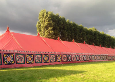 A 64m Mundir marquee for an RAF ball