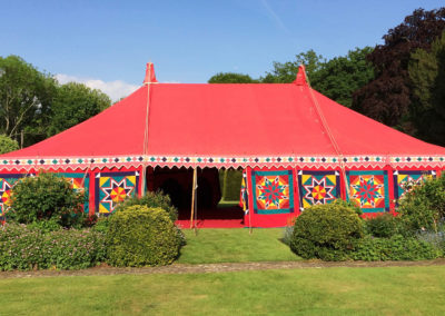 A 9m x 15m marquee in Surrey