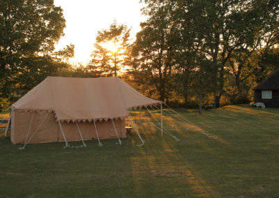 The Indian Safari tent, the ultimate camping experience